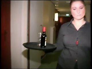 Chubby Dutch Hotel Maid