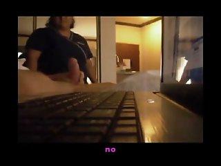 Flashing Hotel Maid - She..