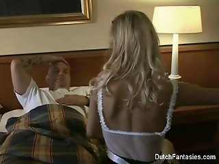 Dutch Maid Fucks Hotel Room..