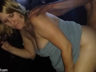 SatiSlut - MILF fucked at..