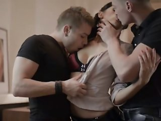 Anita in a threesome with..