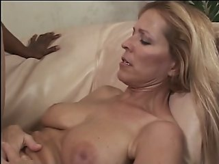 Blonde slut loves getting..