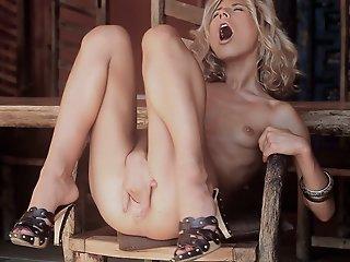 Hot Skinny Blonde..
