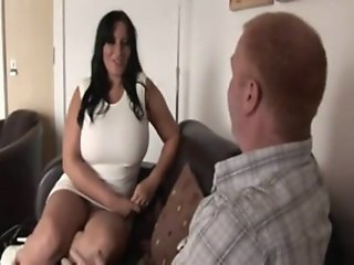Busty British Milf gets..