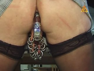Extremley pierced MILF with..