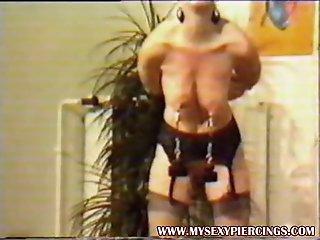 Vintage video of bold slave..