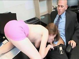 Horny Redhead Secretary...F70