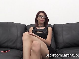 Casting Slave Chokes Herself..
