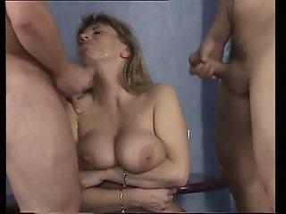 Mom with giant saggy boobs..