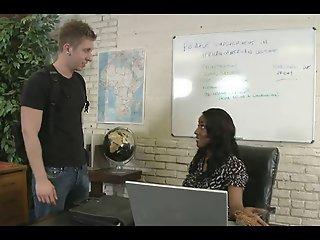 Big Titted Black Teacher..