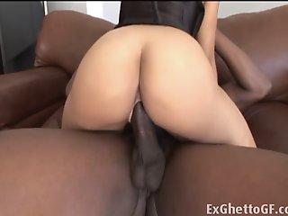 Big breasted ebony slut..