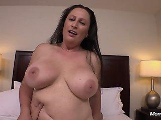 Big Natural Tits MILF gets..